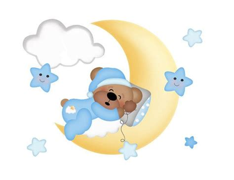 Wall Stickers For Boy Nursery teddy clipart sleepy pencil and in color teddy clipart