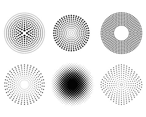 pattern dots vector free halftone dot pattern vector