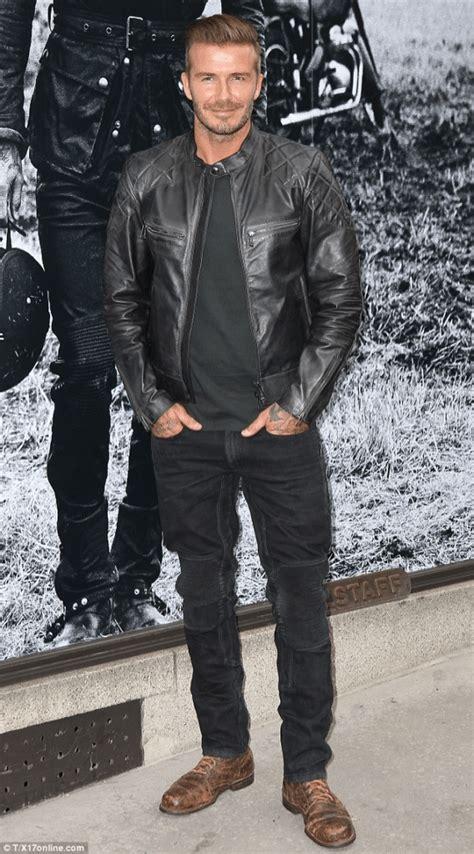 black leather jacket brown leather shoes ok mr derk
