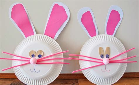 plate craft paper plate animals crafts images
