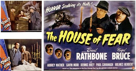 sherlock holmes and the house of fear the house of fear 1945 full movie youtube
