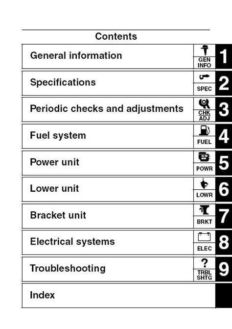 Tohatsu Outboard Engines 2 5hp 140hp Service Repair Manual