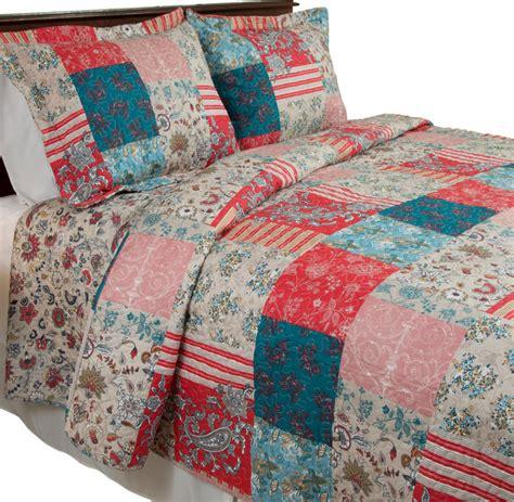 Farmhouse Quilt by Mallory Quilt Set 3 Pieces Farmhouse