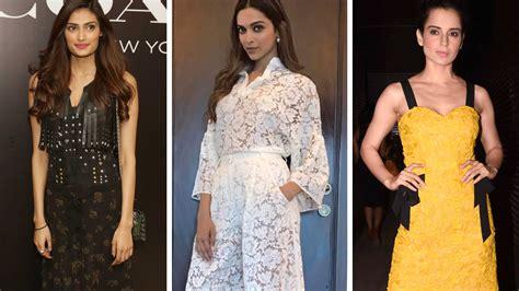 Dress Athiya best dressed april 2017 deepika padukone and athiya shetty