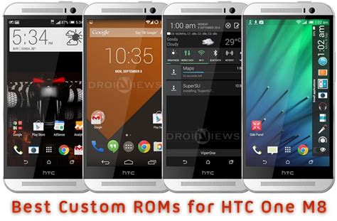 best themes htc one m8 best custom roms for htc one m8
