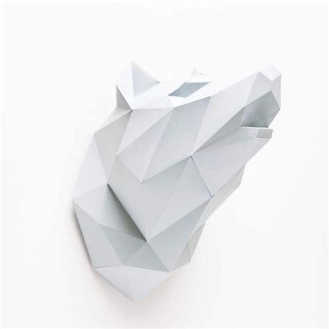 Cuisine En Kit 3136 by Kit Origami Diy T 234 Te De Loup Assembli