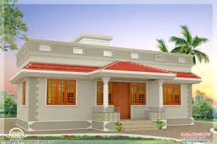 Kerala Style Single Floor House Plan 1000 sq feet kerala style single floor 3 bedroom home