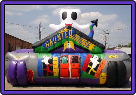 inflatable haunted house rent a bounce house jumping castles for rent moonwalk rentals