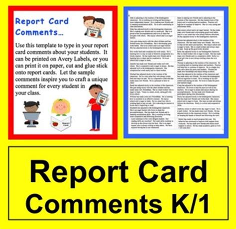 end of year report card template 5th grade report card comments labels by post the