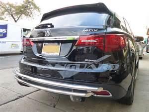 Acura Mdx Rear Bumper T 304 14 17 Acura Mdx Rear Bumper Protector Grill Guard