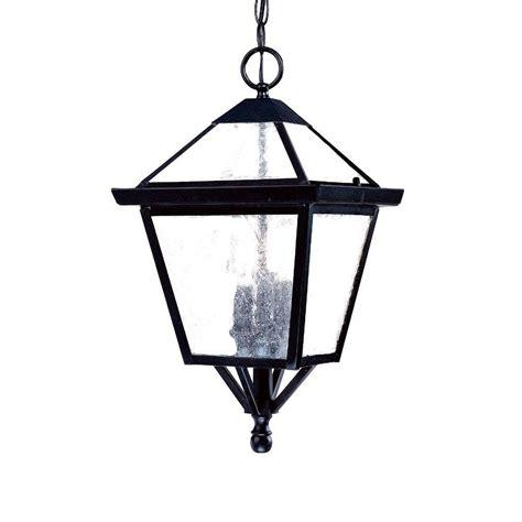 Black Hanging Light Fixture Acclaim Lighting Bay Collection 3 Light Matte Black Outdoor Hanging Light Fixture 7626bk