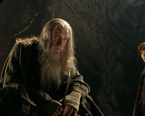 Lord Of The Ring Gandalf when you don t what to do eat el space the