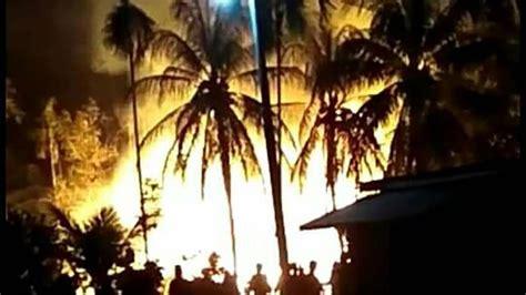 kebakaran  sumur minyak aceh timur  bisa dipadamkan