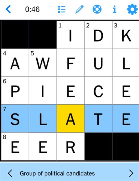 usa today crossword march 17 the new york times quot mini quot crossword replied to slate s