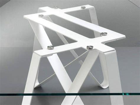 tavolo di design tavolo di design vetro e metallo axel
