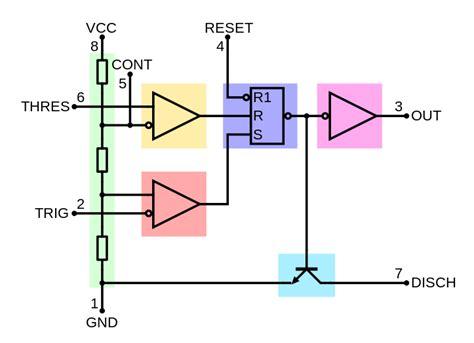 555 block diagram 555 timer soldering sunday