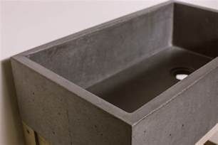 farmhouse kitchen sink concrete wave design concrete