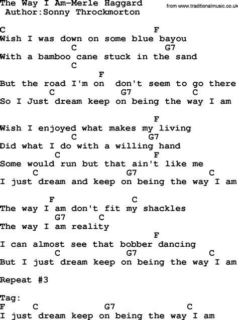 The Way I Am Guitar Chords