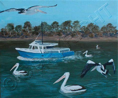 boat painting brisbane brisbane artist artist paintings acrylic painting