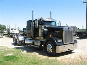 Flat For Sale Used 2007 Kenworth W900 Flattop Tandem Axle Sleeper For
