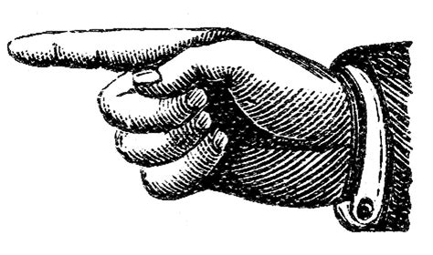 pointing finger clipart finger pointing clipart www pixshark images