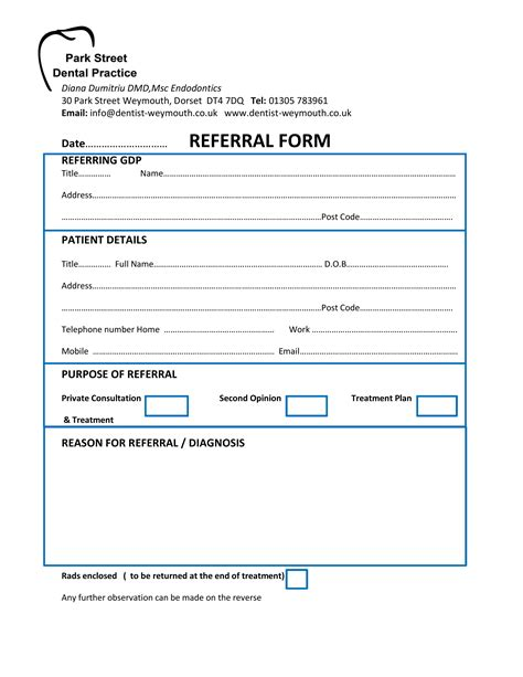 Dental Referral Form Template read book orthodontic referral form patelorthodonticscom