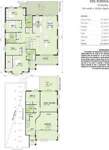 front to back split level house plans robina split level sideways sloping design home design