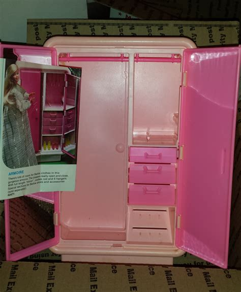 barbie armoire vintage barbie dream house armoire the perfect place for