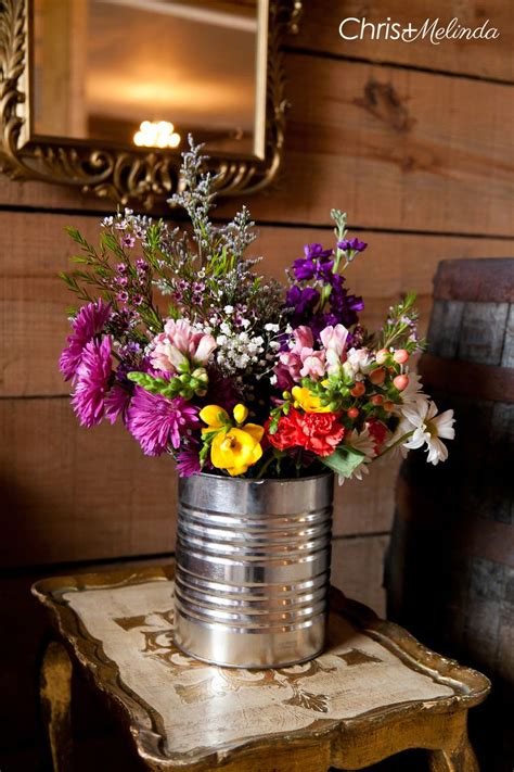 coffee table flower arrangements 1000 ideas about rustic flower arrangements on pinterest