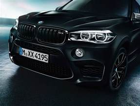 bmw x5 m and x6 m black editions debut the torque