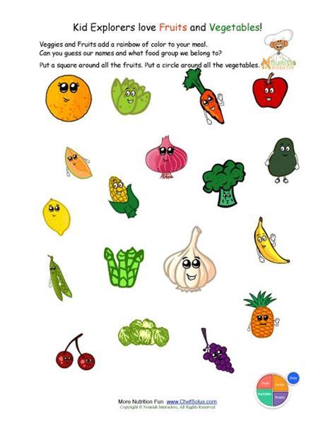 printable images vegetables free worksheets 187 printable fruits and vegetables free
