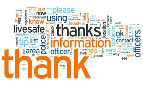 other words for safe two words make all the difference thanks and information livesafe