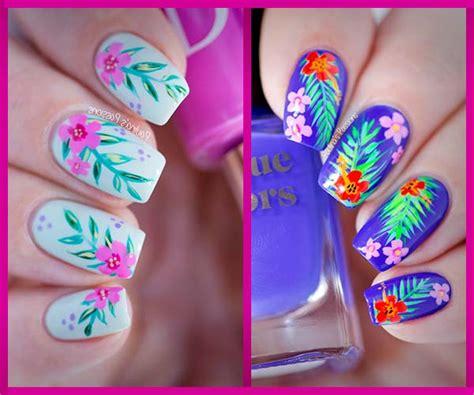 imagenes decorados de uñas con flores uas decorados top good uas decoradas con flores sencillas