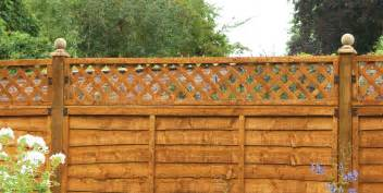 Garden Trellis Tops How To Attach Trellis To A Fence Green Garden