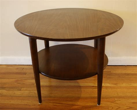 End Tables As Coffee Table Mid Century Modern Coffee Table And Side Table Picked Vintage