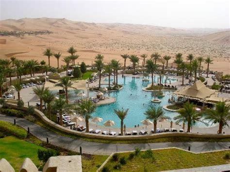 abu dhabi desert resort qasr al sarab desert resort by pool photo de anantara qasr al sarab desert resort