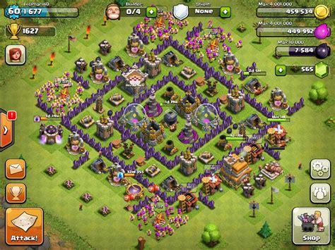 clash of clans strategy level 7 farming base design town hall clash of clans th7 farming base clashofclans