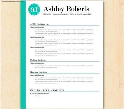 styles cv resume template australia the australian resume