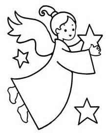 christmas angel coloring pages coloring