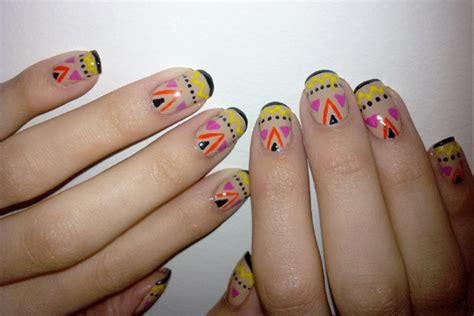 imagenes uñas decoradas de moda actuales tendencias septiembre 2012