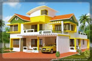 House Models And Plans Duplex House Elevation 2700 Sq Ft Plan 114 Acube