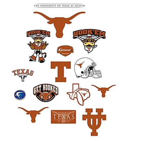 Ut Mba Class Size by Of Logo Junior Fatheads Bed Bath Beyond