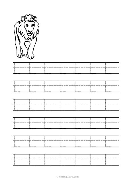 Letter L Worksheets by Free Printable Tracing Letter L Worksheets For Preschool