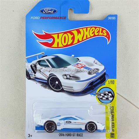 Hotwheels 2016 Ford Gt Race wheels 2016 ford gt race white end 7 11 2018 7 15 pm