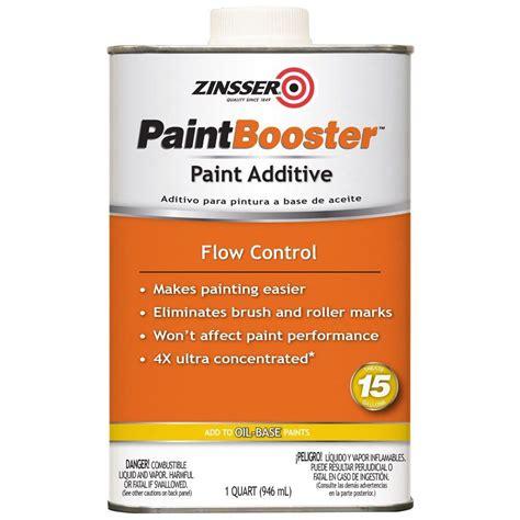 zinsser paint colors zinsser 1 qt paint booster flow additive for