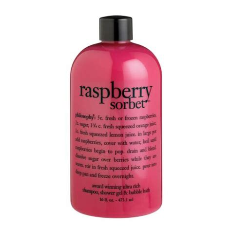 Philosophy Detox Shower Gel by Philosophy Raspberry Sorbet Shoo Shower Gel