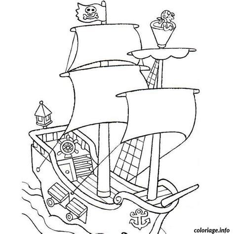 dessin bateau pirate imprimer coloriage bateau de pirate jecolorie