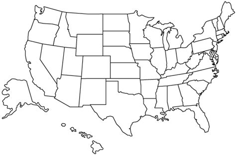 printable us map 8 5 x 11 us geography can you locate all of the states on a