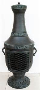 Chiminea Stand Cast Iron Cast Iron Chiminea Outdoor Fireplace View Cast Iron