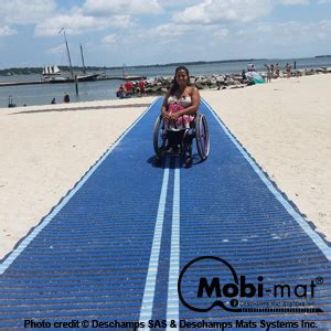 mobi mat mobi mat 174 portable and removable roll out mat by dms inc